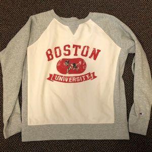 Boston University Champion sweatshirt